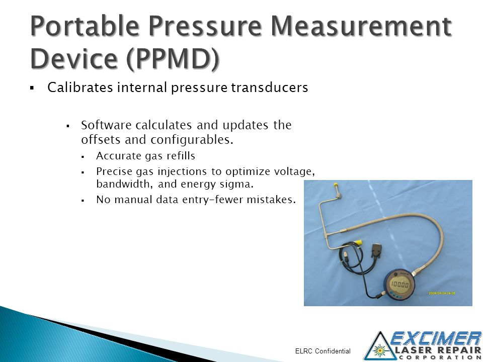 Portable Pressure Measurement Device (PPMD)
