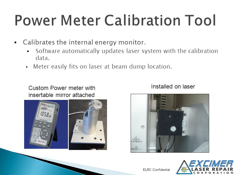 Power Meter Calibration Tool