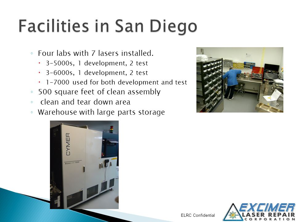 Facilities in San Diego