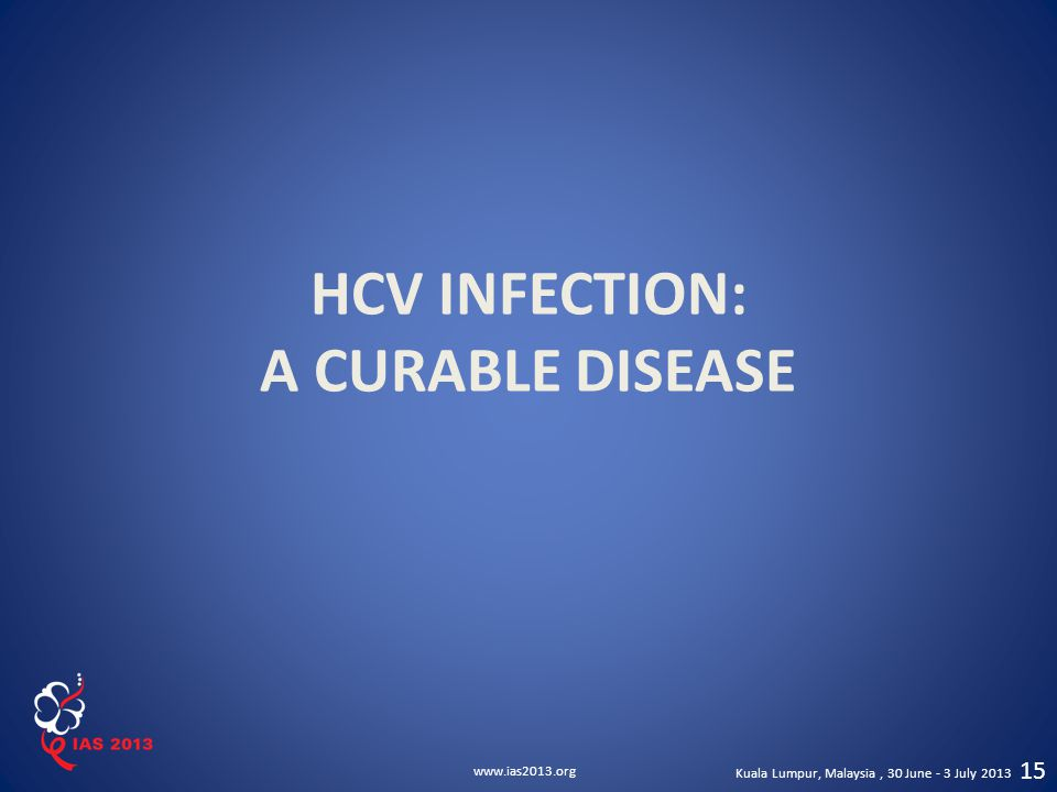 HCV INFECTION: A CURABLE DISEASE