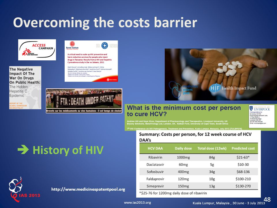 Overcoming the costs barrier