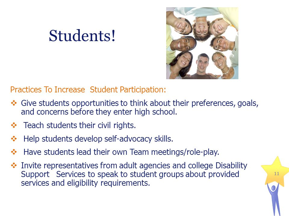 Students! Practices To Increase Student Participation: