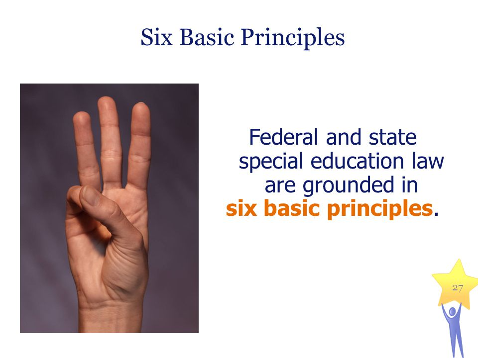 Federal and state special education law are grounded in