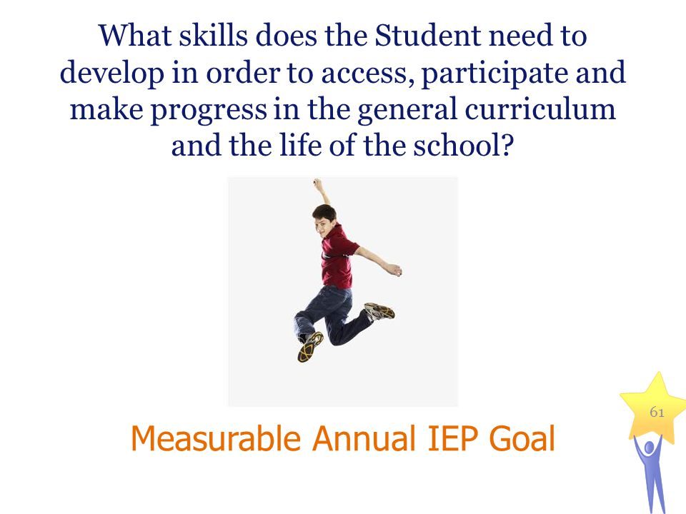 Measurable Annual IEP Goal