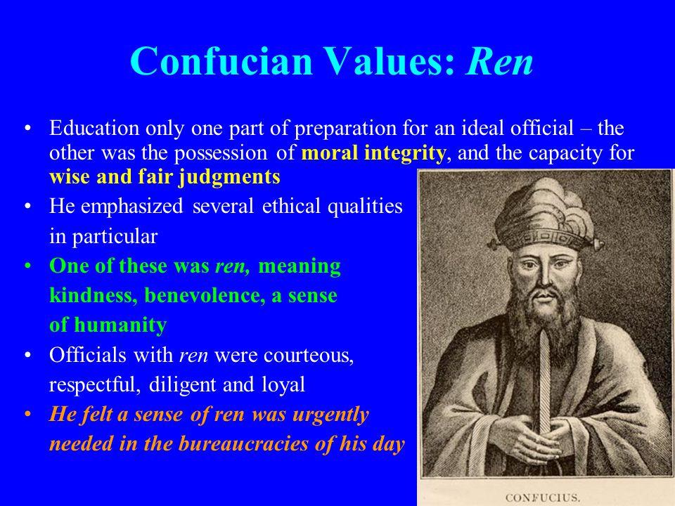 Confucian Values: Ren