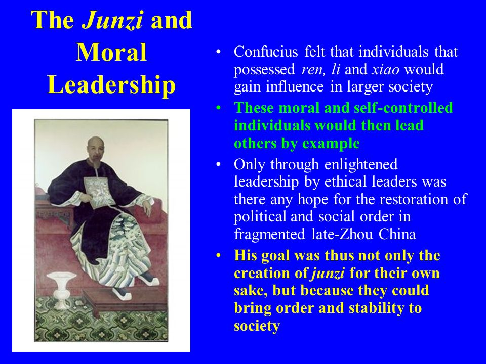 The Junzi and Moral Leadership