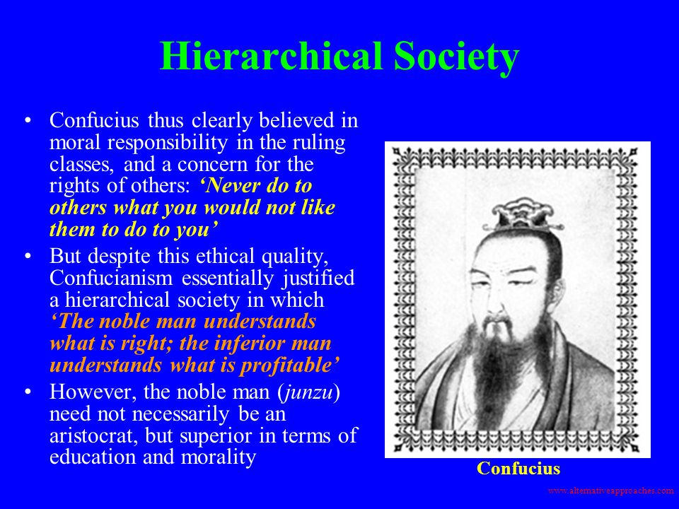 Hierarchical Society