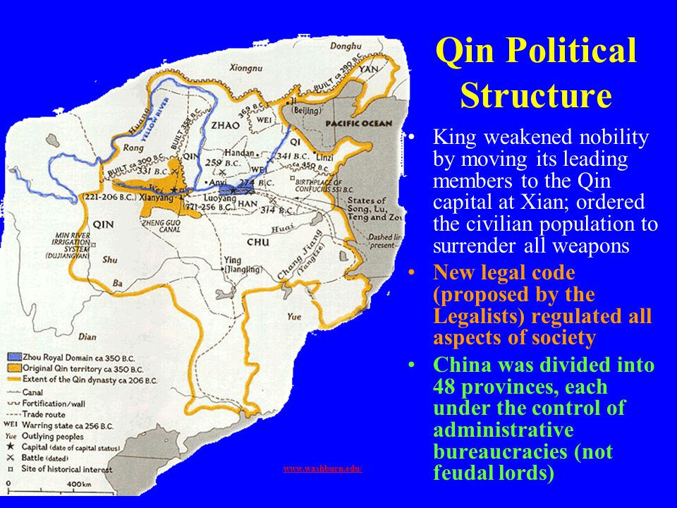 Qin Political Structure
