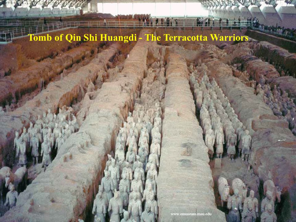 Tomb of Qin Shi Huangdi - The Terracotta Warriors