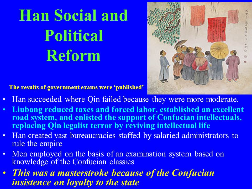 Han Social and Political Reform