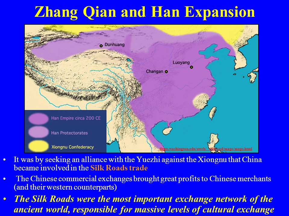 Zhang Qian and Han Expansion