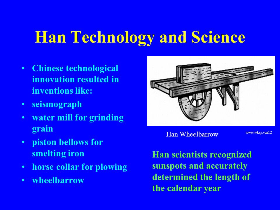 Han Technology and Science