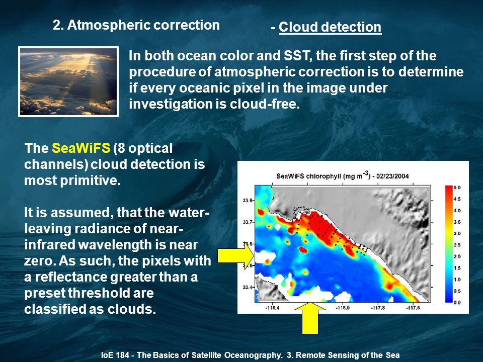 2. Atmospheric correction - Cloud detection