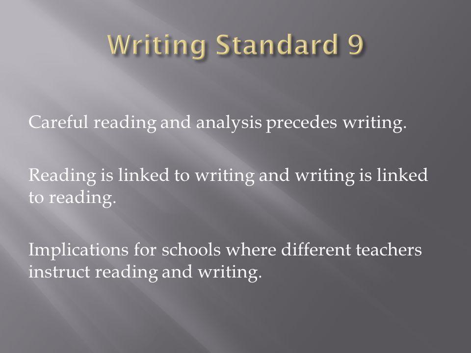 Writing Standard 9