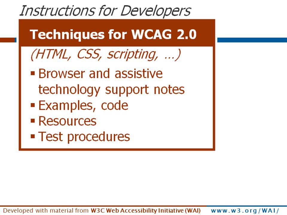 See www.w3.org/WAI/presentations/WCAG20_benefits/