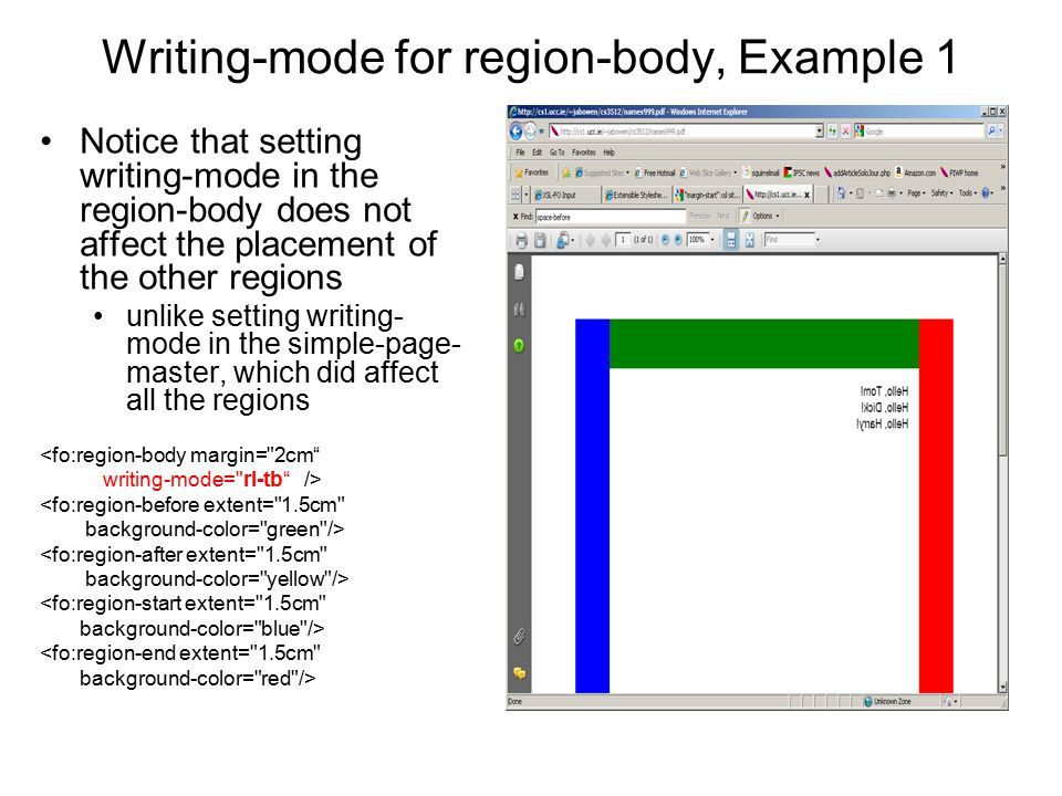 Writing-mode for region-body, Example 1