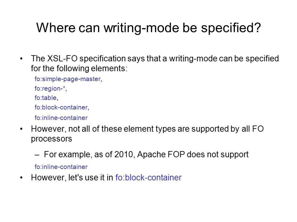 Where can writing-mode be specified