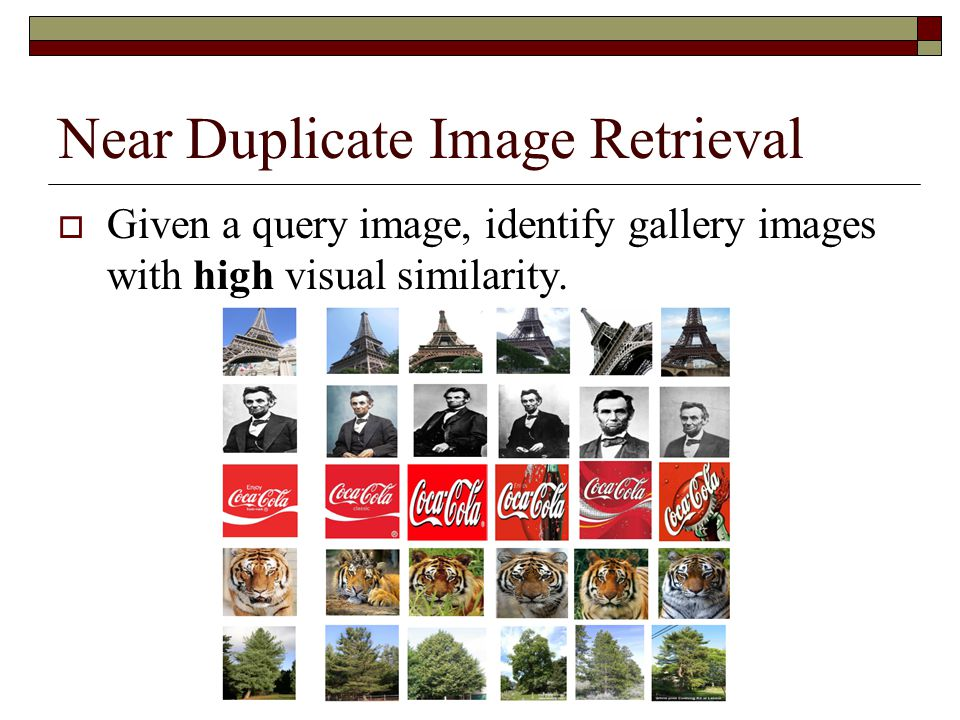 Near Duplicate Image Retrieval