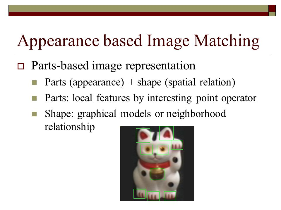 Appearance based Image Matching
