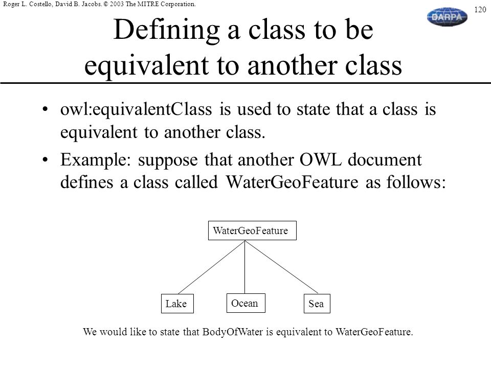 Defining a class to be equivalent to another class