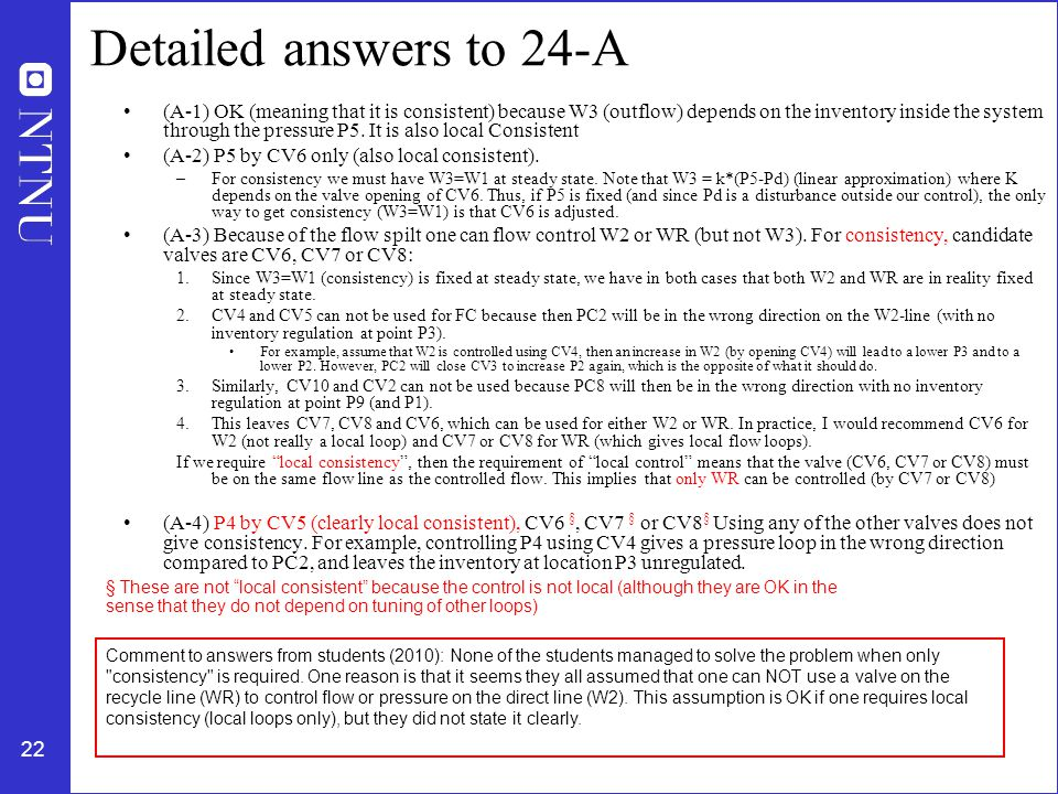 Detailed answers to 24-A