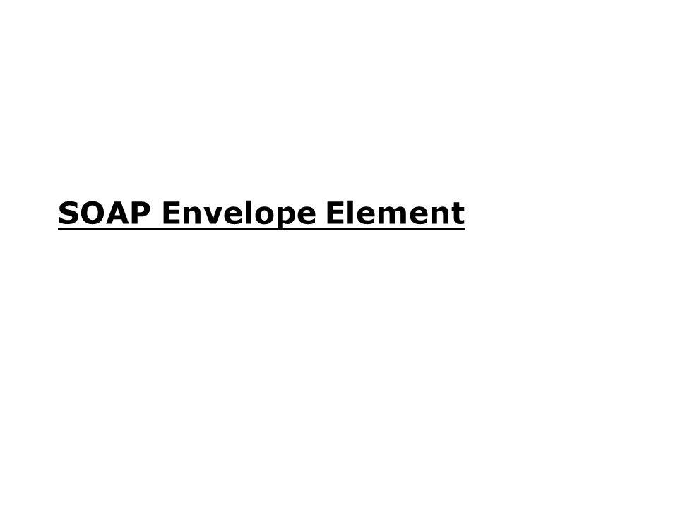SOAP Envelope Element