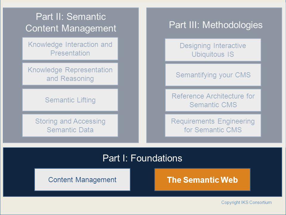 Part III: Methodologies