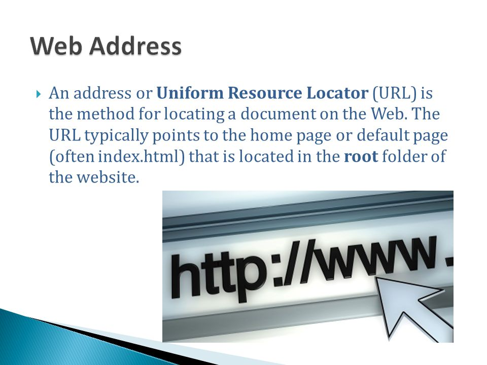 Web Address