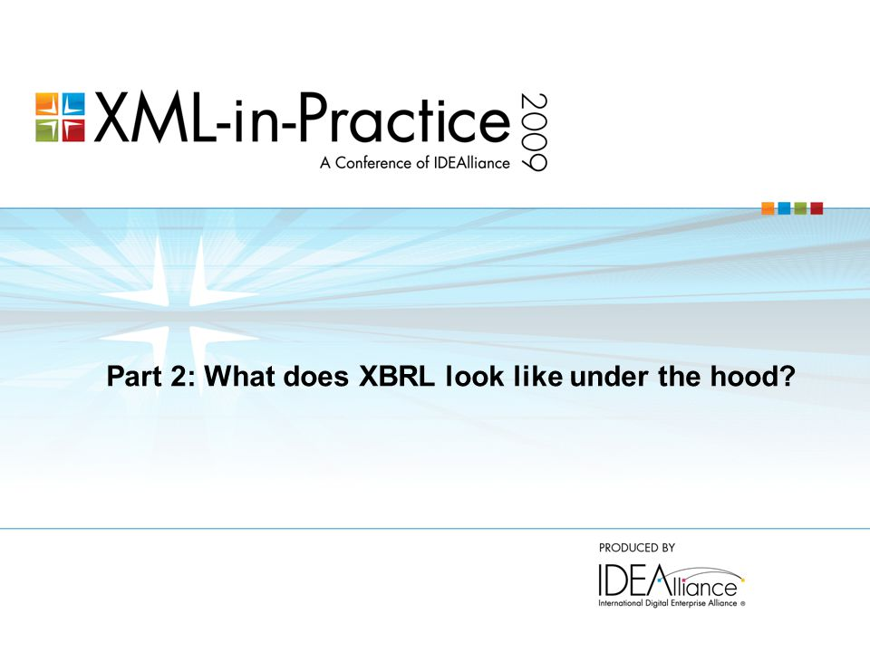 Part 2: What does XBRL look like under the hood