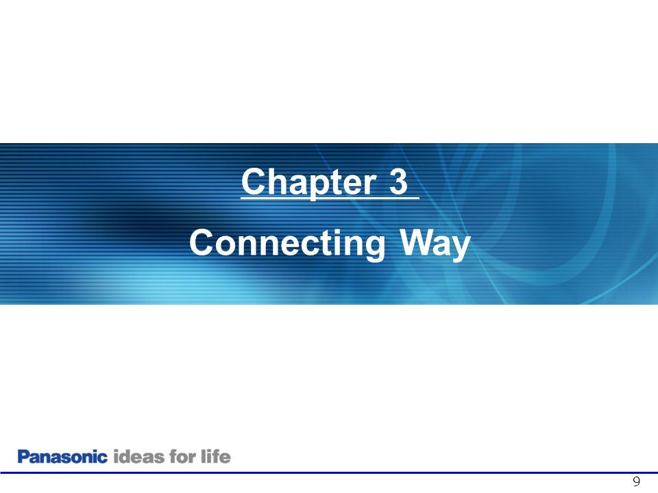 3. Connecting Way General 1. Server Initiate (Push)