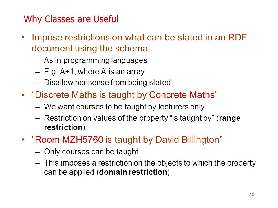 Discrete Maths is taught by Concrete Maths