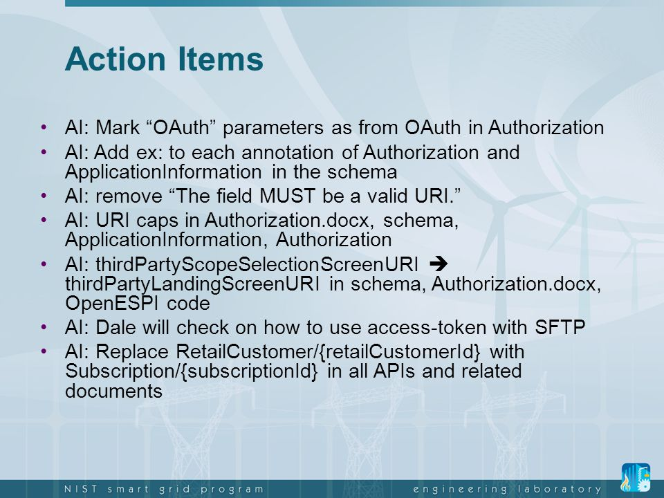 Action Items AI: Mark OAuth parameters as from OAuth in Authorization.