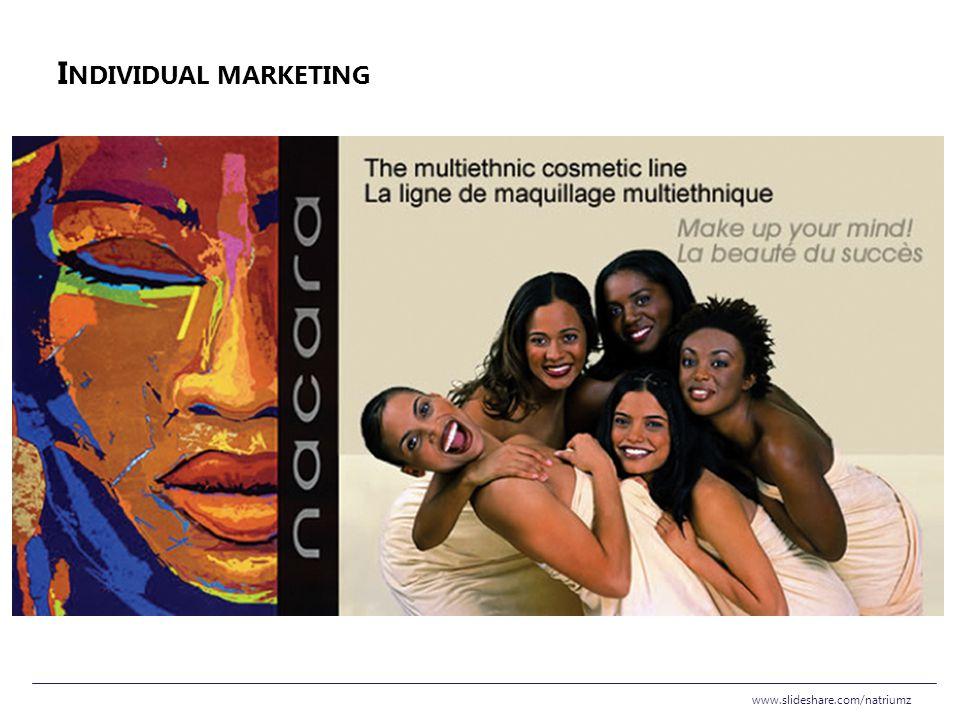 Individual marketing www.slideshare.com/natriumz