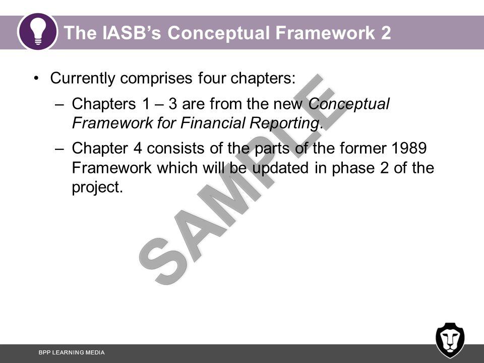 The IASB's Conceptual Framework 2