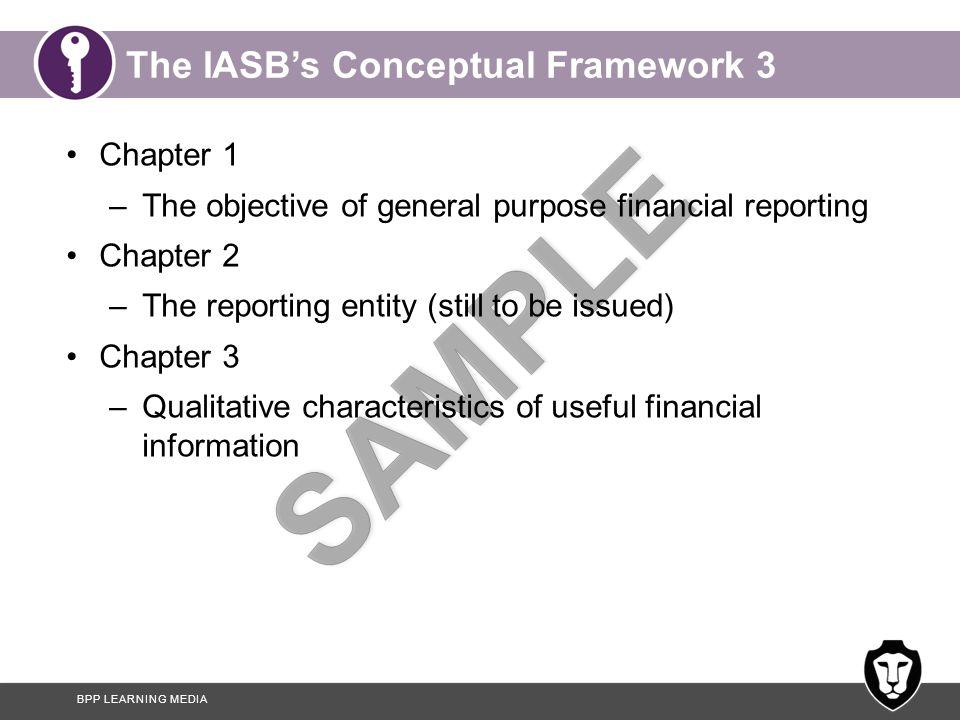 The IASB's Conceptual Framework 3