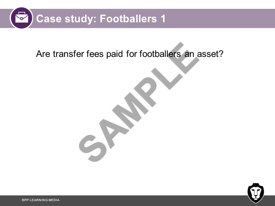 Case study: Footballers 1