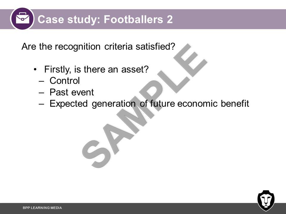 Case study: Footballers 2