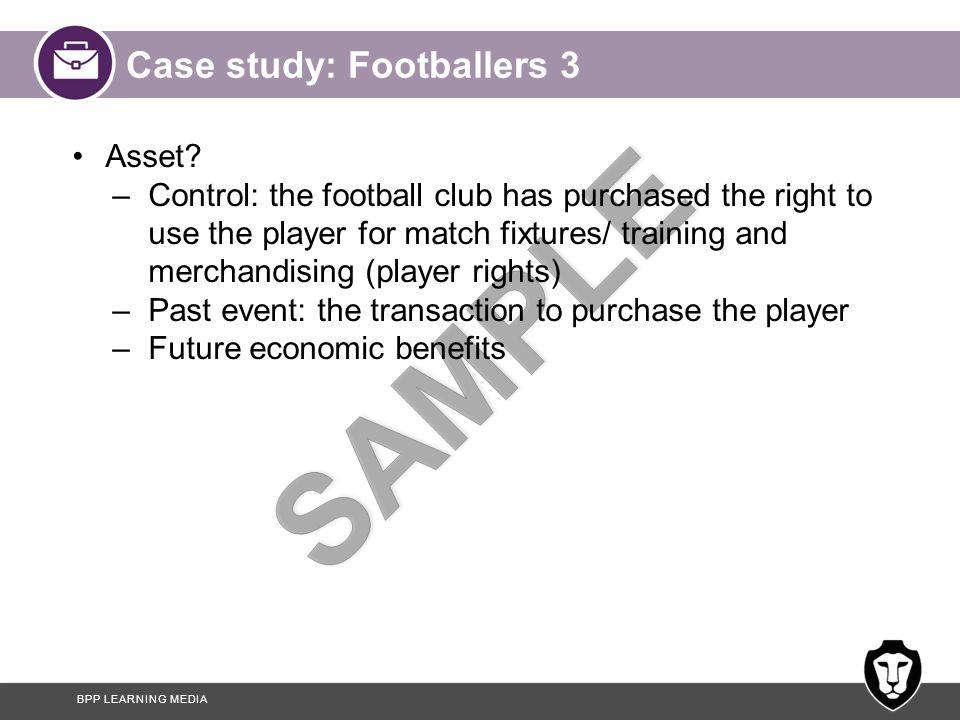 Case study: Footballers 3