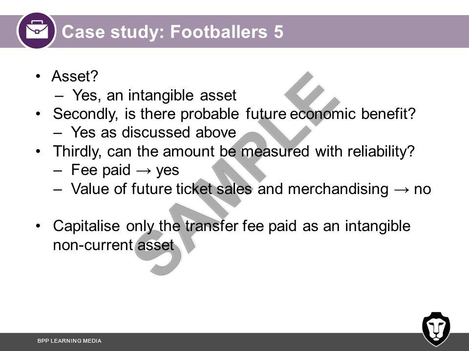Case study: Footballers 5