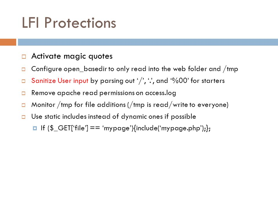 LFI Protections Activate magic quotes