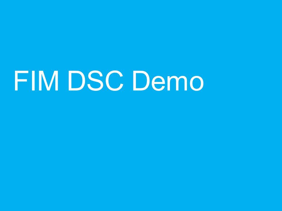 FIM DSC Demo