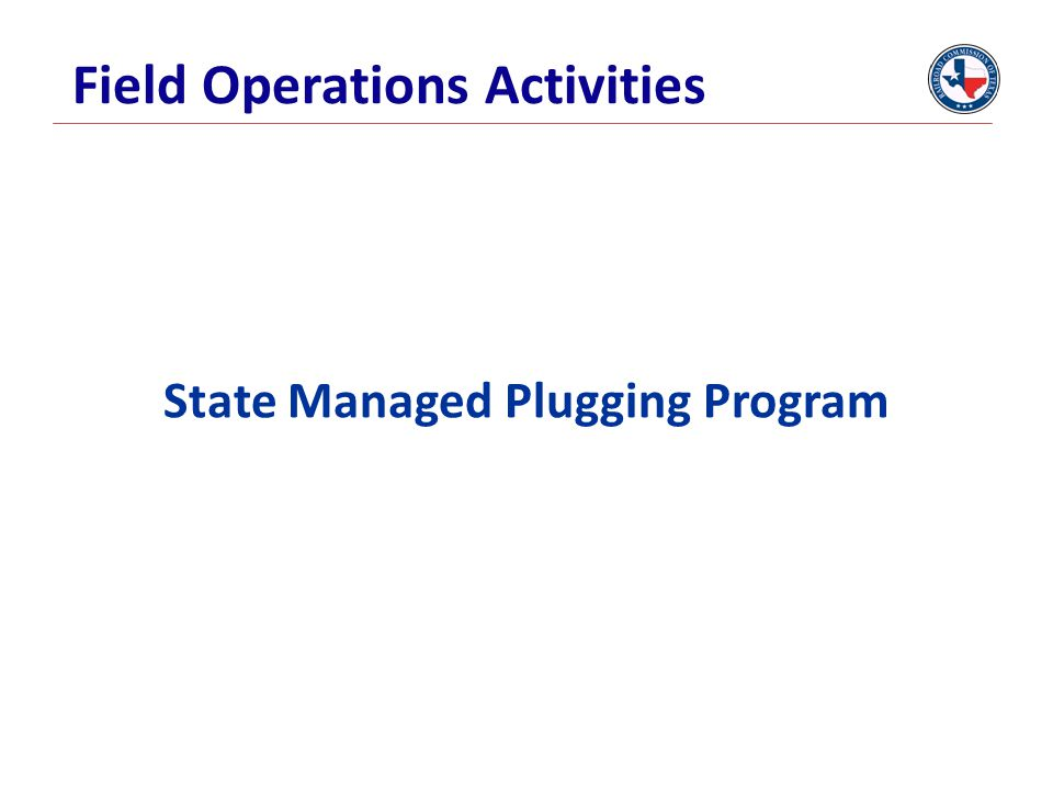 Field Operations Activities