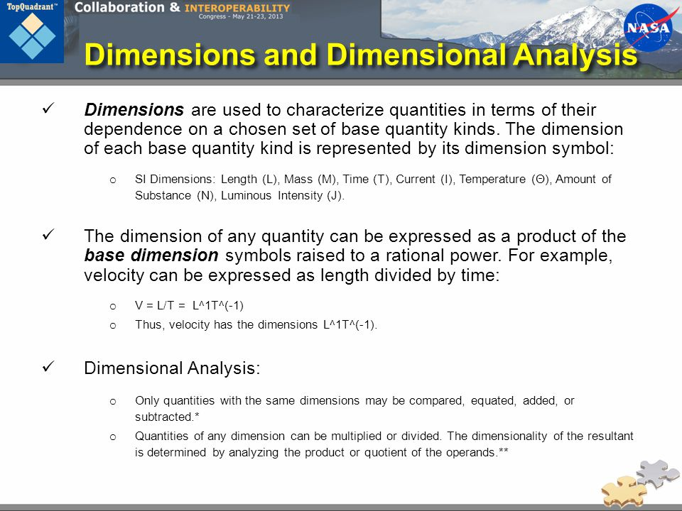 Dimensions and Dimensional Analysis