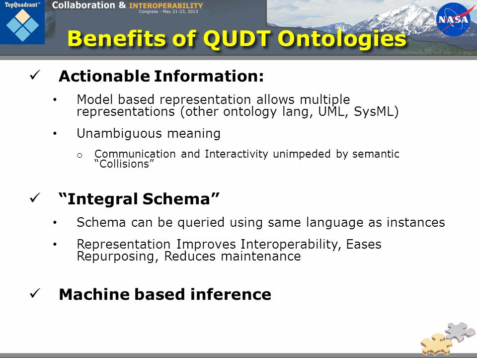 Benefits of QUDT Ontologies