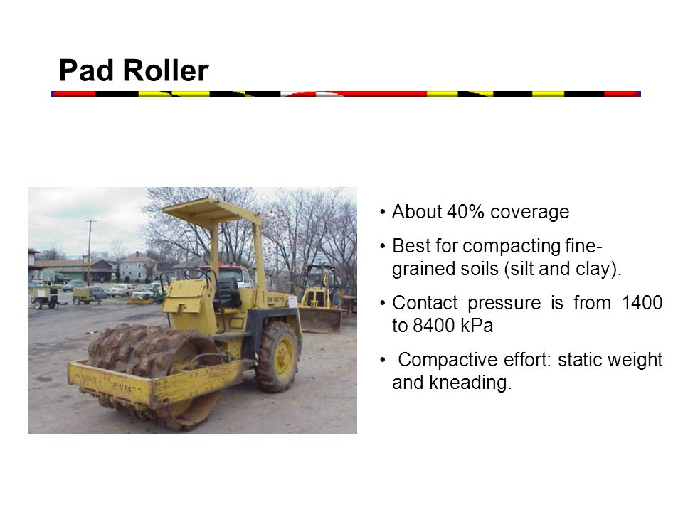 Pad Roller About 40% coverage