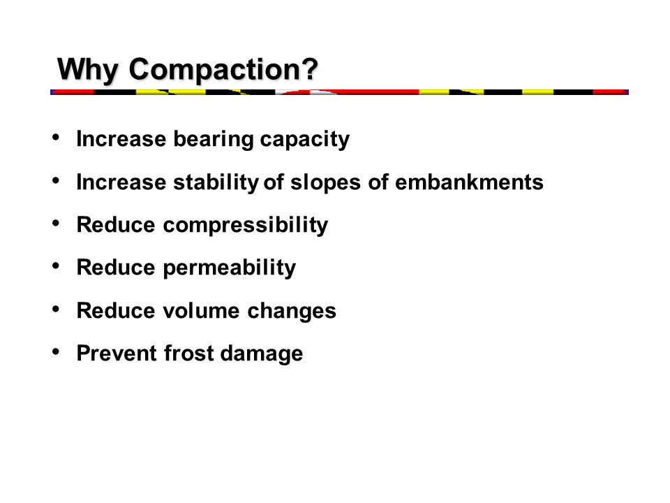 Why Compaction Increase bearing capacity