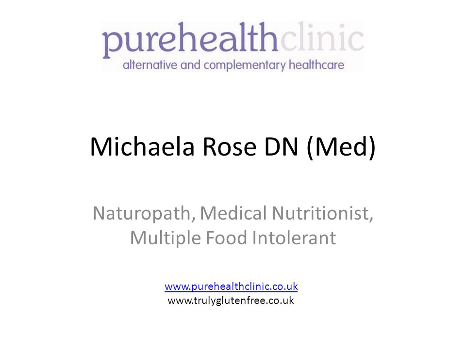 Naturopath, Medical Nutritionist, Multiple Food Intolerant