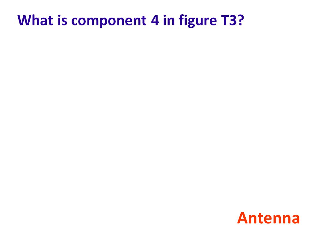 What is component 4 in figure T3