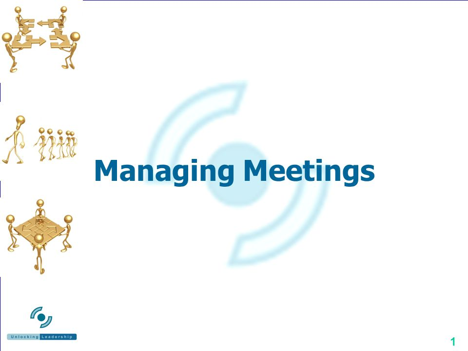 Managing Meetings Managing Meetings Richard O Rawe