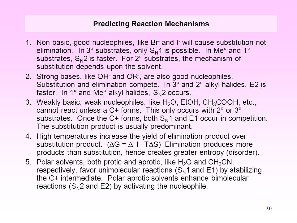 Predicting Reaction Mechanisms